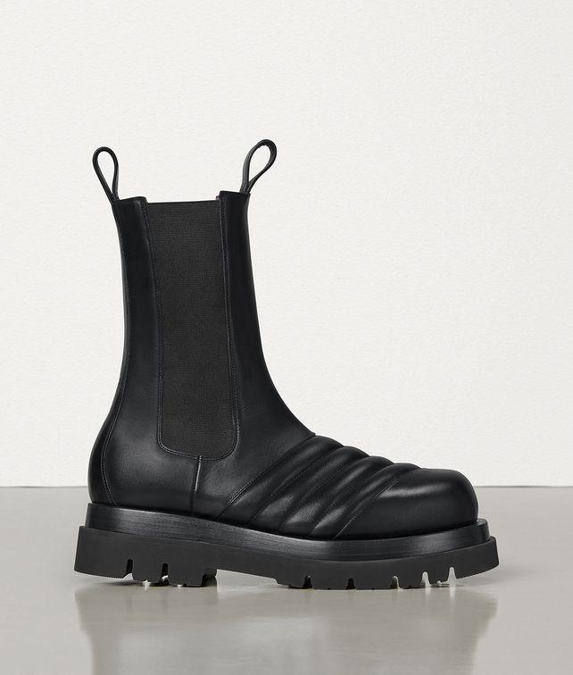 BOTTEGA VENETA MID-CALF BOOTS IN STORM CUIR Boots Woman fp