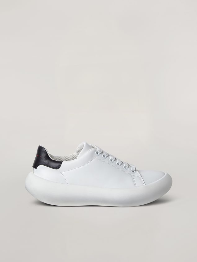 Marni  Leather BANANA sneakers with contrast insert Man - 1