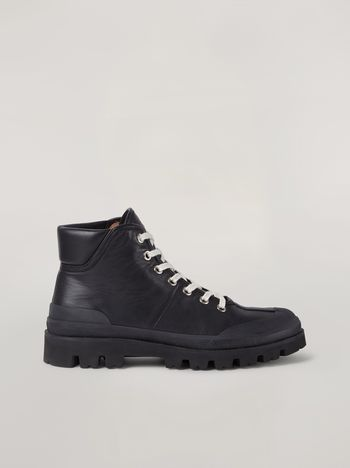 Marni Boot in lightweight nappa leather with rubber edges Man f