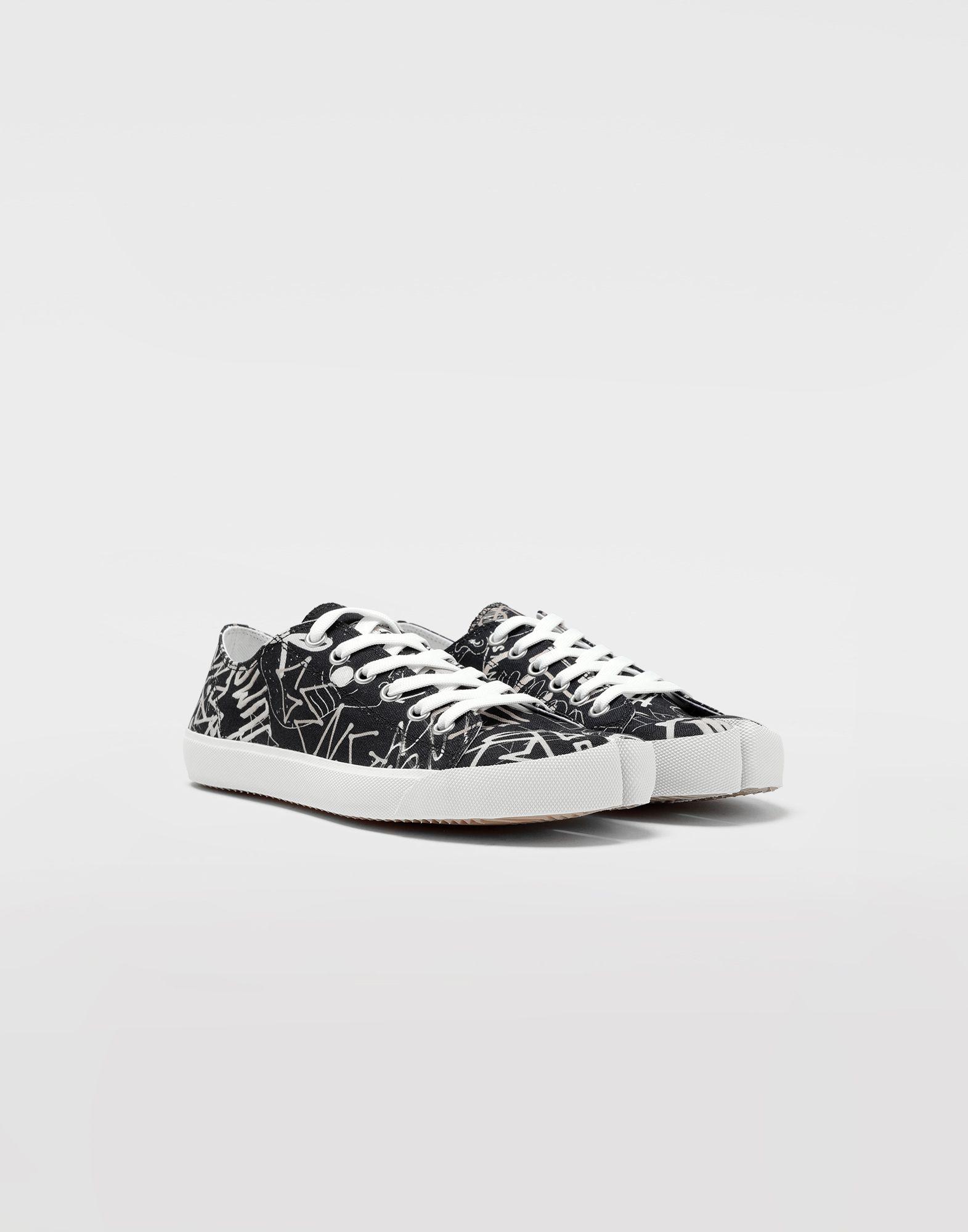 MAISON MARGIELA Graffiti Tabi sneakers Sneakers Man d