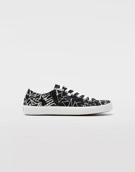 MAISON MARGIELA Graffiti Tabi sneakers Sneakers Man f