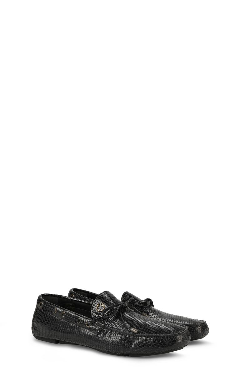 JUST CAVALLI Leather loafer Moccassins Man r
