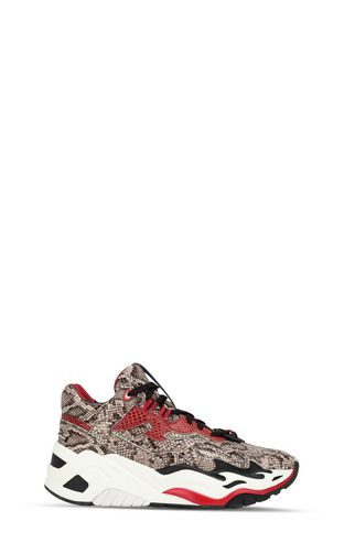 JUST CAVALLI Sneakers Woman Knitted P1thon sneakers f