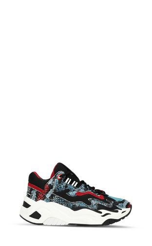 JUST CAVALLI Sneakers Woman P1thon sneakers f