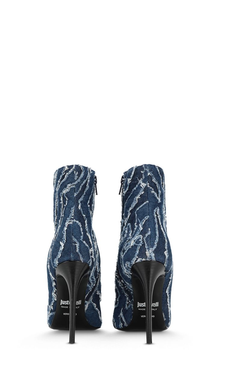 JUST CAVALLI Denim ankle boots Ankle boots Woman d