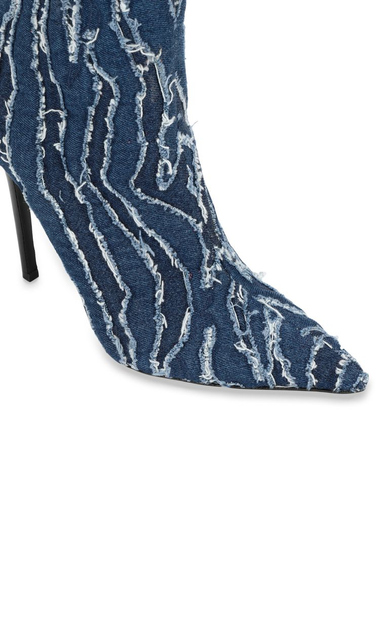 JUST CAVALLI Denim ankle boots Ankle boots Woman e