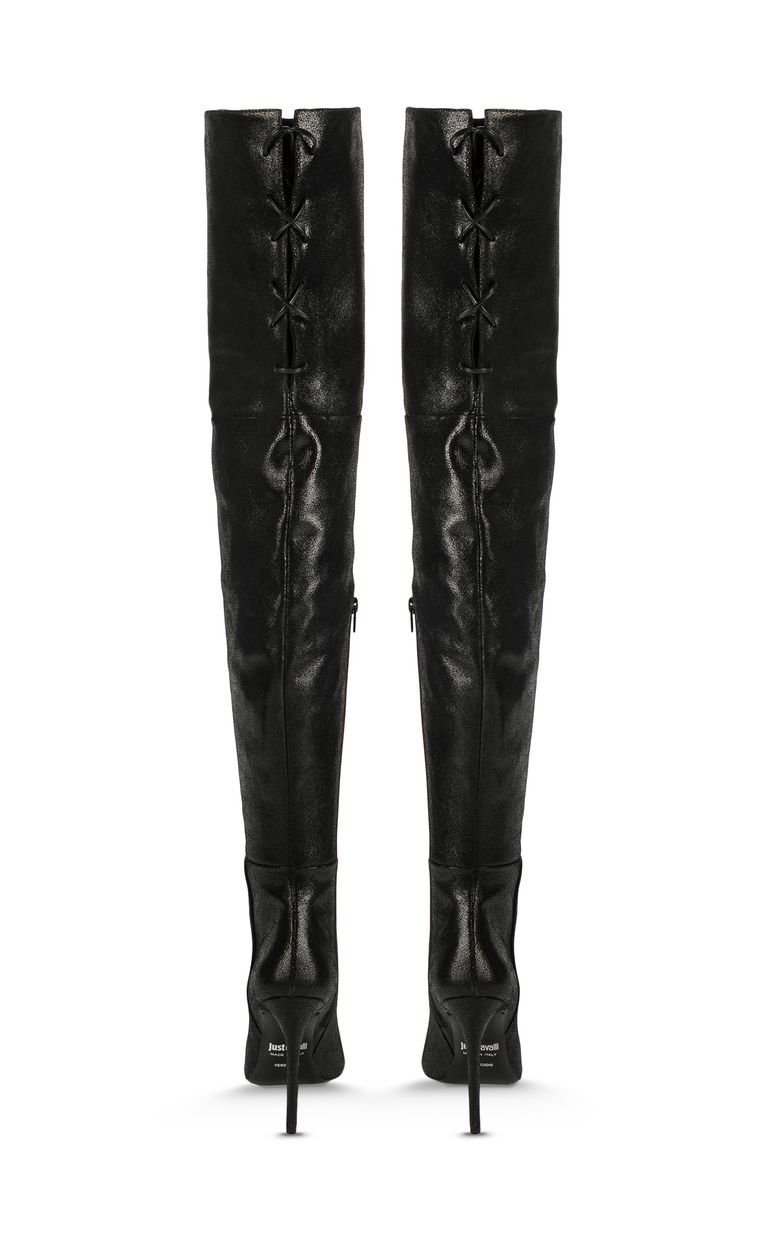 JUST CAVALLI Boots with ties Boots Woman d