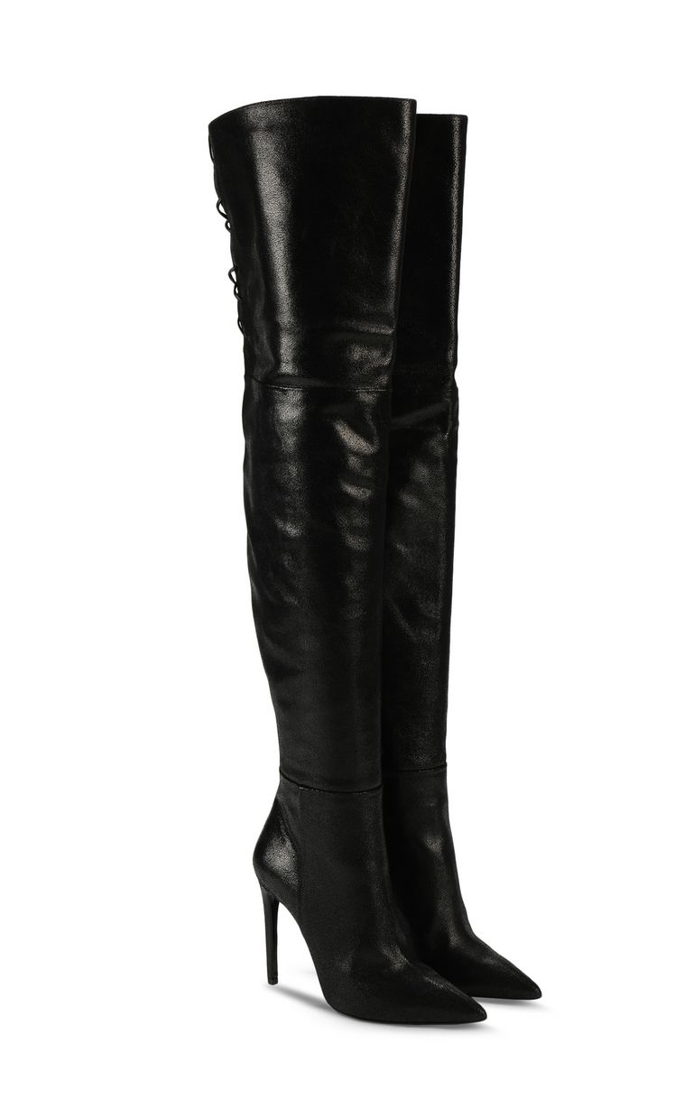 JUST CAVALLI Boots with ties Boots Woman r