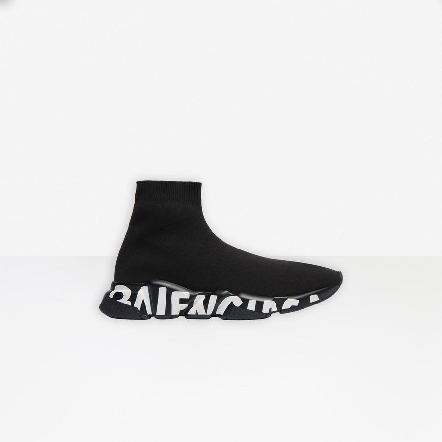 Speed Sneaker Graffiti Black for Men