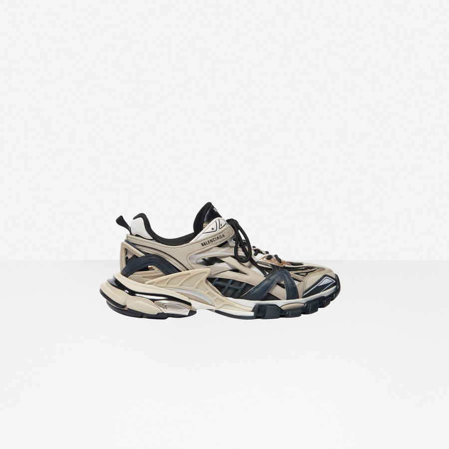 Track 2 Sneaker Beige For Men Balenciaga