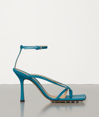STRETCH SANDALS IN KID LEATHER