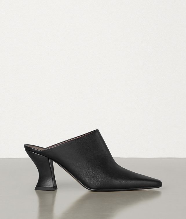 BOTTEGA VENETA ALMOND MULES IN NAPPA Pump Woman fp