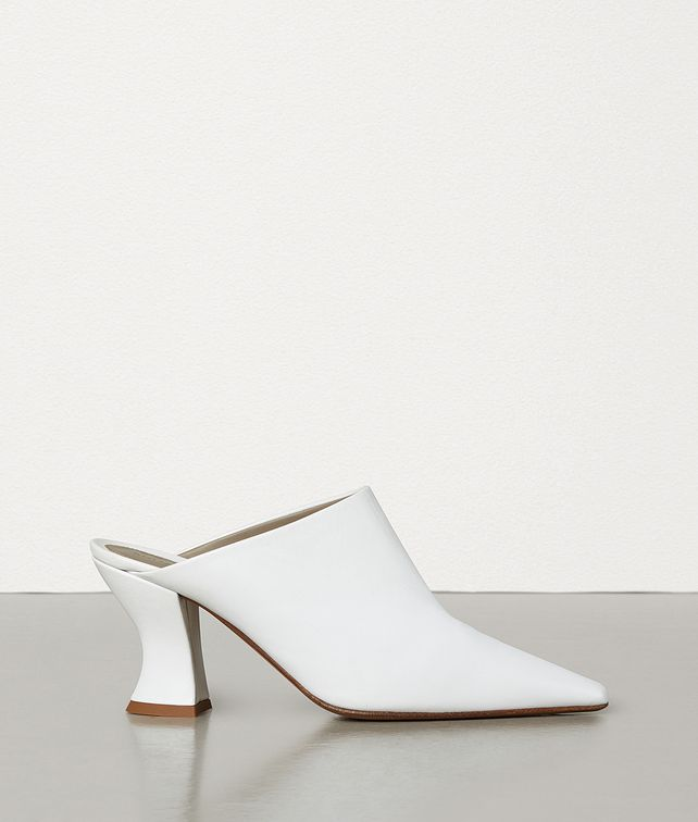 BOTTEGA VENETA ALMOND MULES Pump [*** pickupInStoreShippingNotGuaranteed_info ***] fp