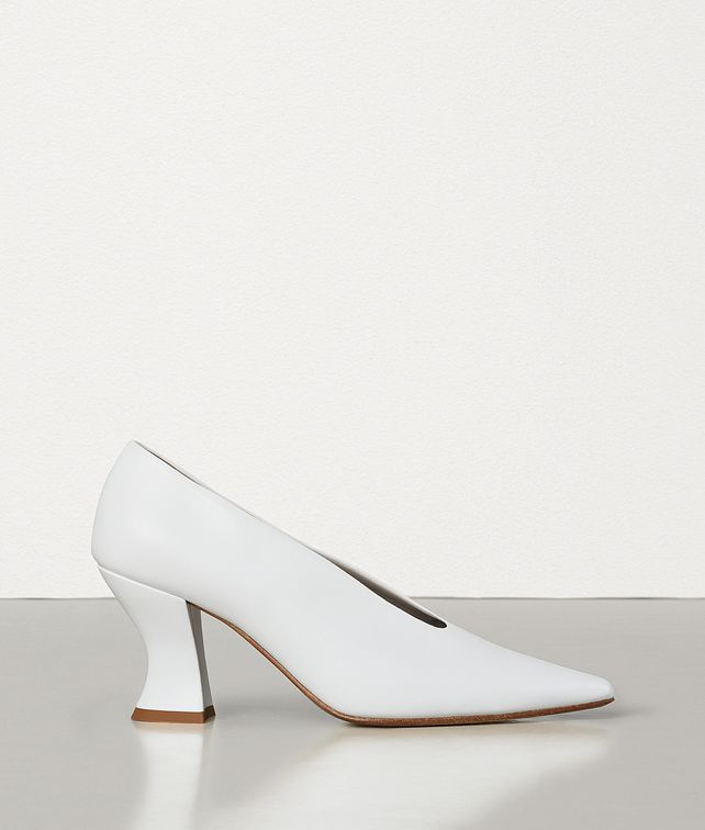 BOTTEGA VENETA ALMOND PUMPS IN NAPPA Pump Woman fp