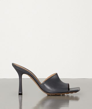 STRETCH MULES IN KID LEATHER