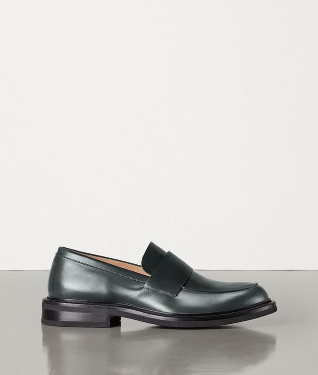 BOTTEGA VENETA LOAFERS IN CALF LEATHER Slippers and Loafers Man fp