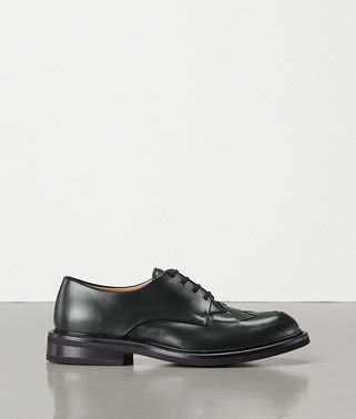 LACE UP SHOES IN INTRECCIATO CALF