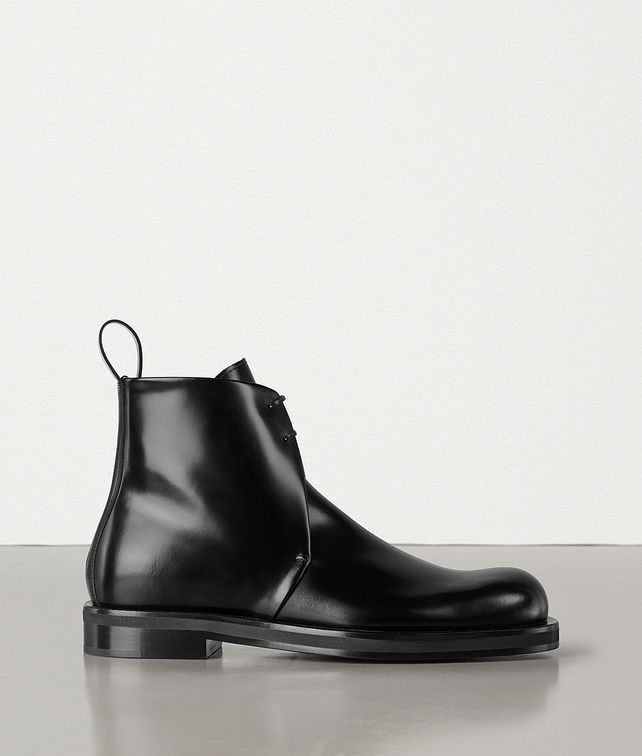 BOTTEGA VENETA BOOTS IN POLISHED CALFSKIN Boots Man fp