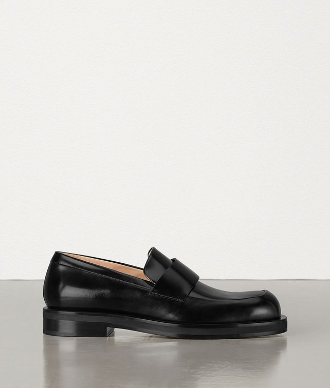 BOTTEGA VENETA LOAFERS IN POLISHED CALFSKIN Slippers and Loafers Man fp