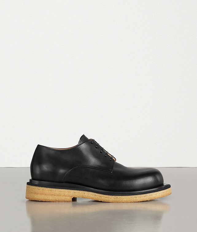 BOTTEGA VENETA LACE-UP SHOES IN CALFSKIN Lace Ups Man fp