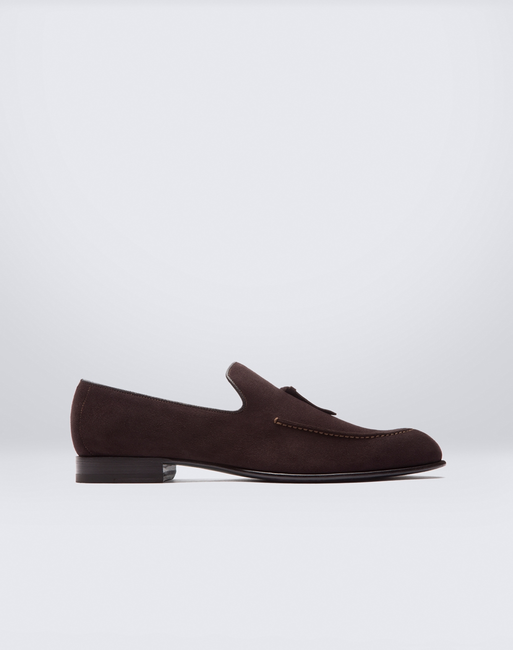 BRIONI Brown Tassel Loafers Formal shoes Man f
