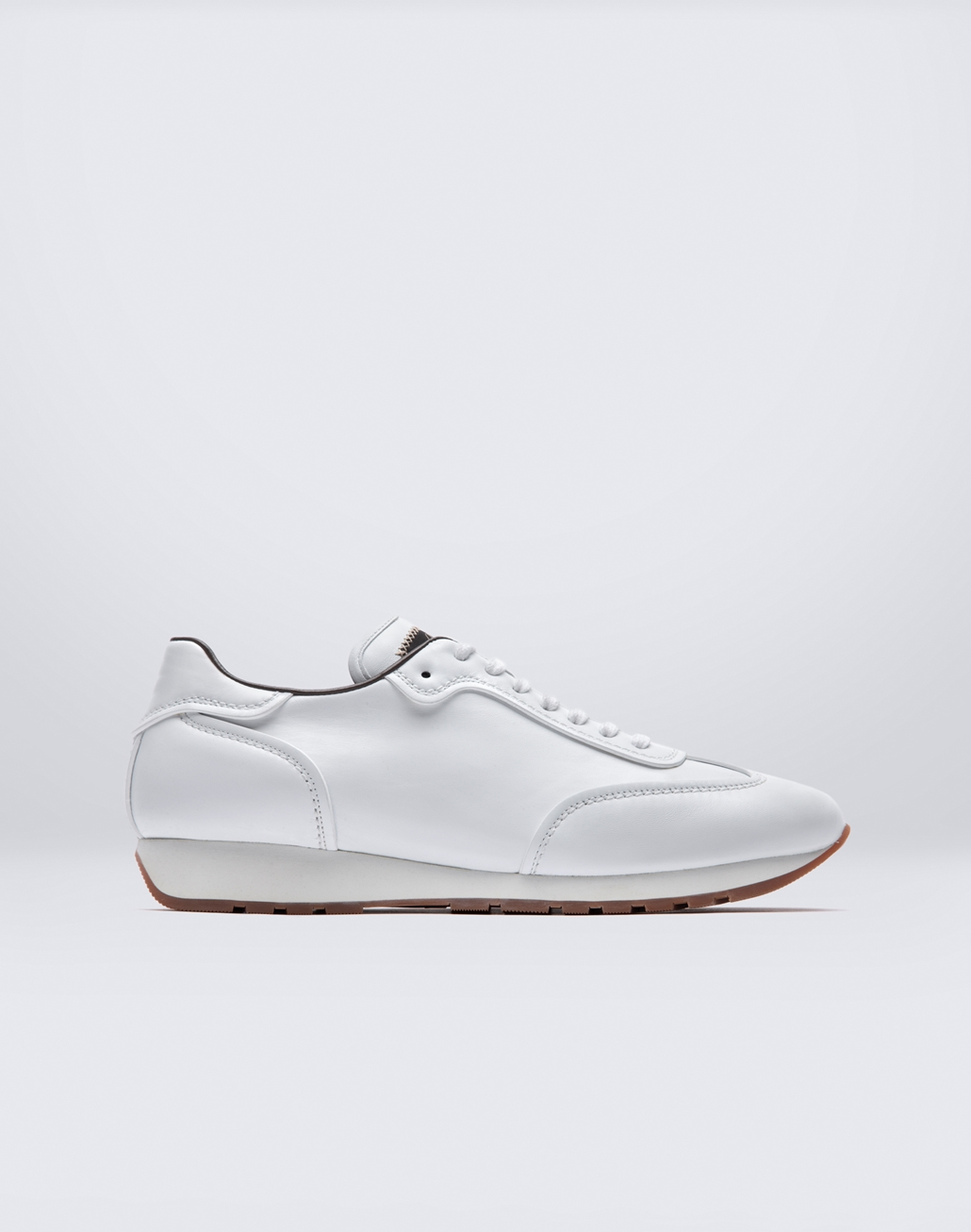 BRIONI White Running Sneakers Sneakers Man f
