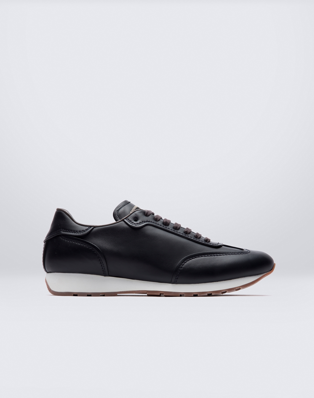 BRIONI Navy Blue Running Sneakers Sneakers Man f