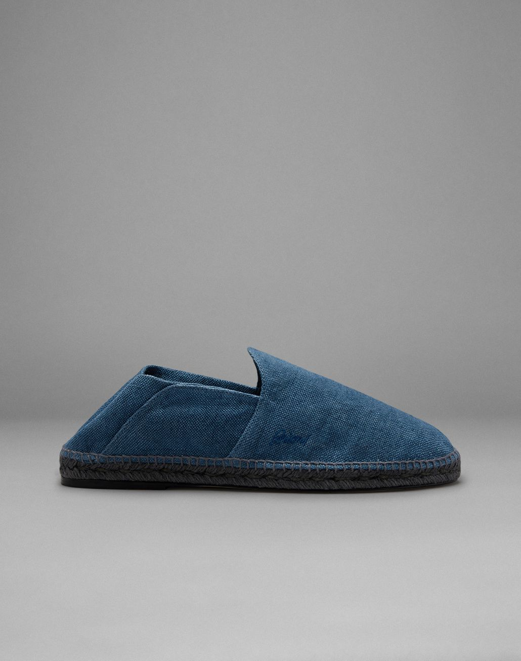 BRIONI Blue Espadrille Leisure Shoes Man f