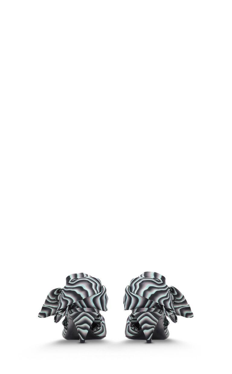 JUST CAVALLI Zebra-stripe foulard court shoe Pump Woman d