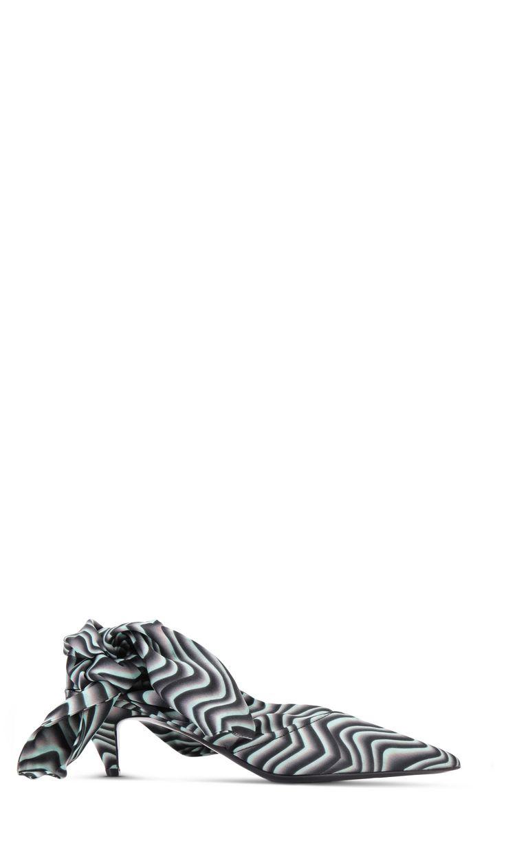 JUST CAVALLI Zebra-stripe foulard court shoe Pump Woman f