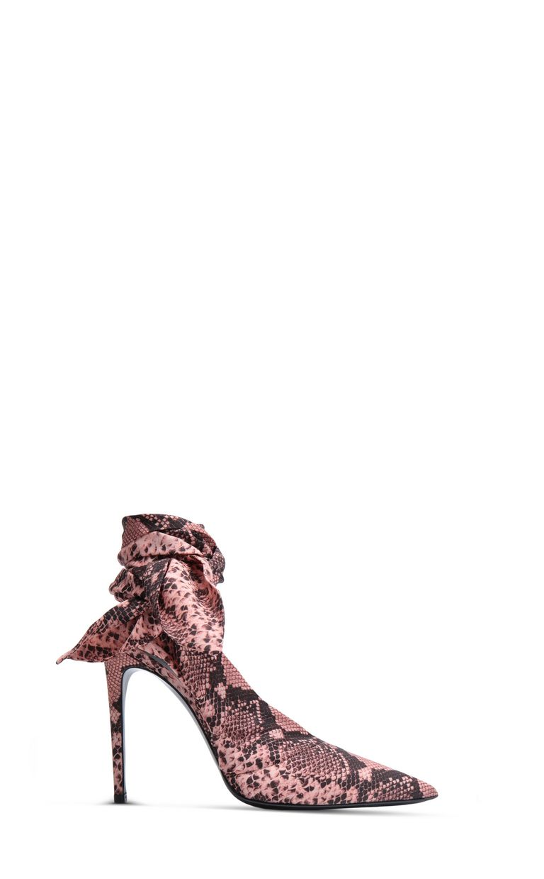 JUST CAVALLI Python-print foulard court shoe Pump Woman f