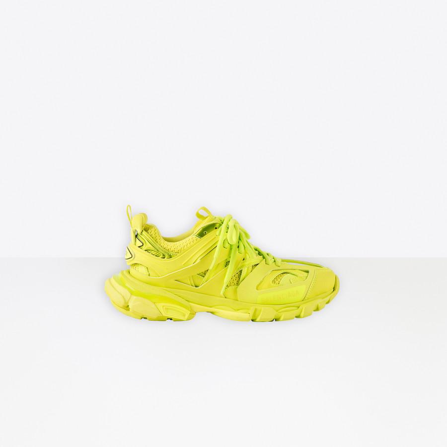 Track Sneaker LIME for Women | Balenciaga