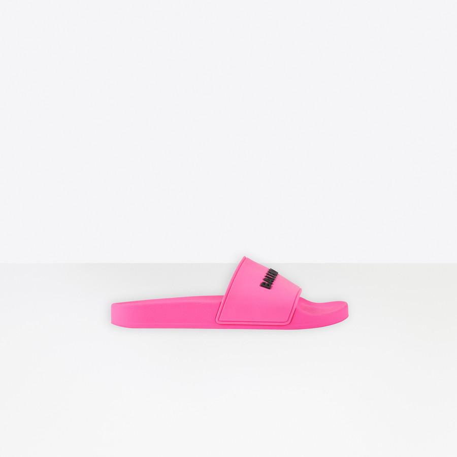 Pool Slide Sandal for Women | Balenciaga