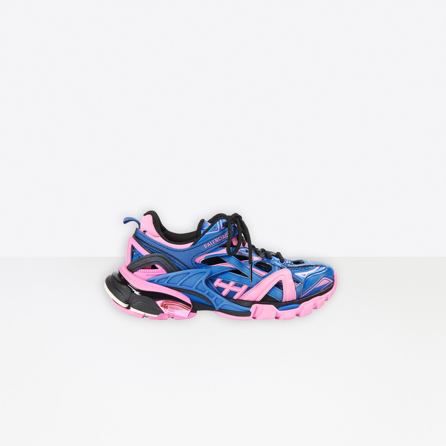 Track.2 Sneaker BLUE/PINK for Women