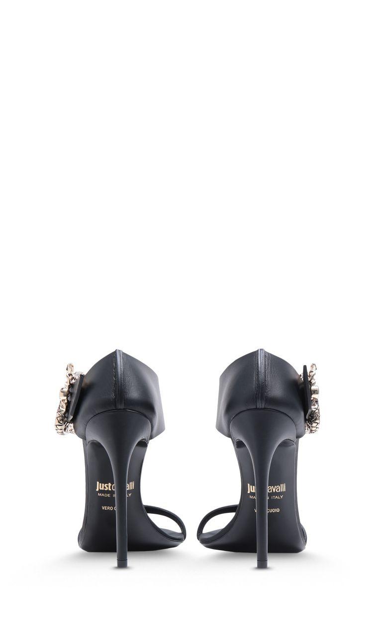 JUST CAVALLI Snake-buckle sandals High-heeled sandals Woman d