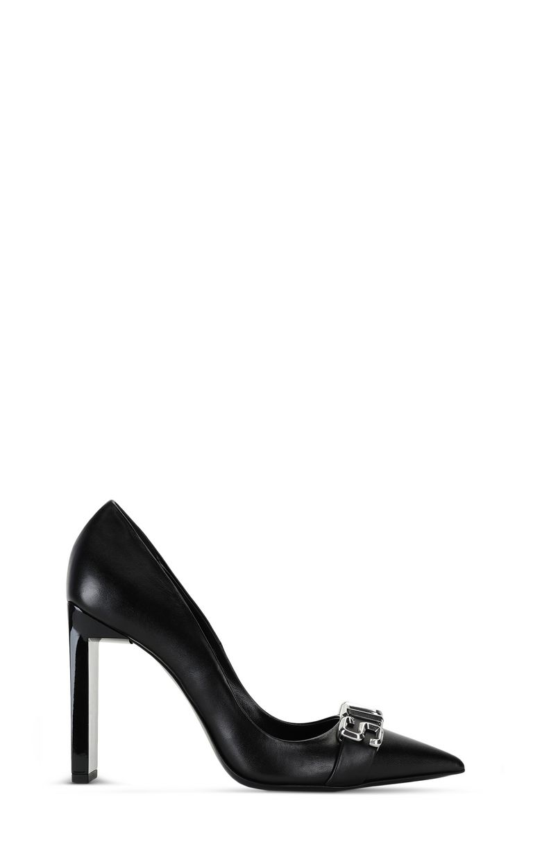 JUST CAVALLI Court shoe with STCA logo Pump Woman f