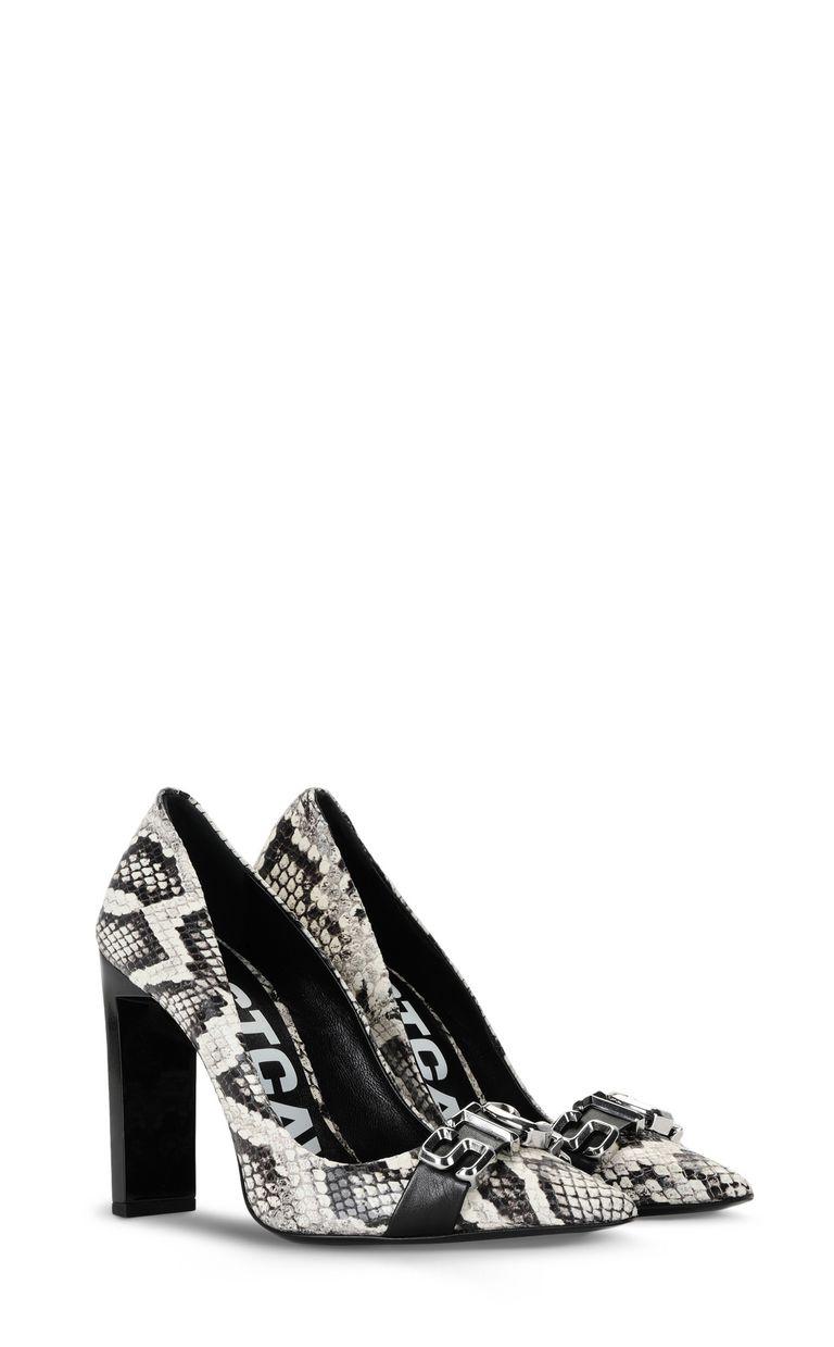 JUST CAVALLI Court shoe with STCA logo Pump Woman r