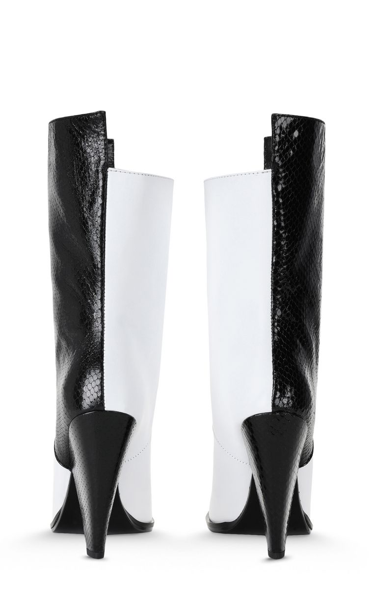 JUST CAVALLI Two-tone texas boots Ankle boots Woman d