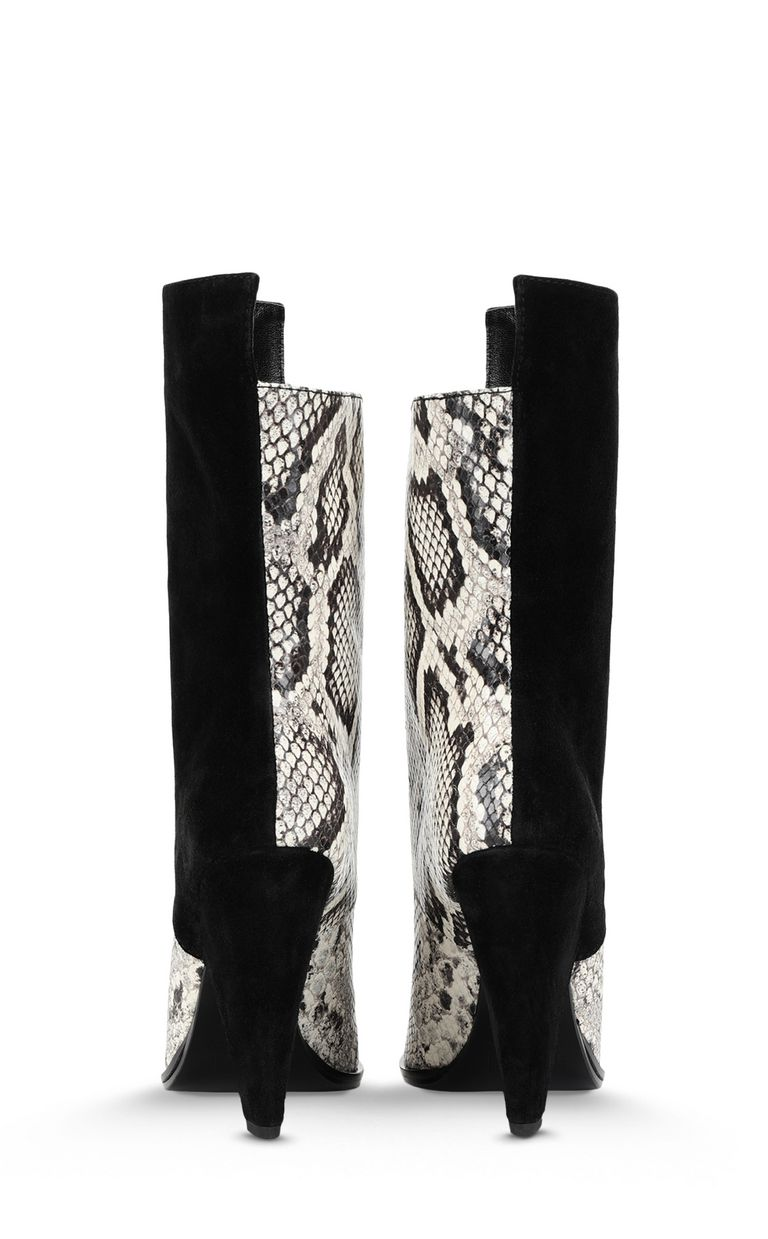 JUST CAVALLI Texas-style python-print ankle boot Ankle boots Woman d