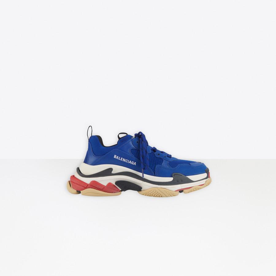 Triple S Sneaker NAVY for Men | Balenciaga