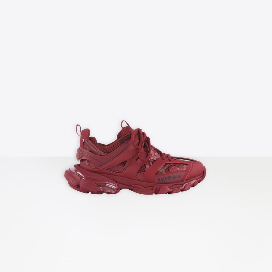 Track Sneaker BURGUNDY for Men   Balenciaga