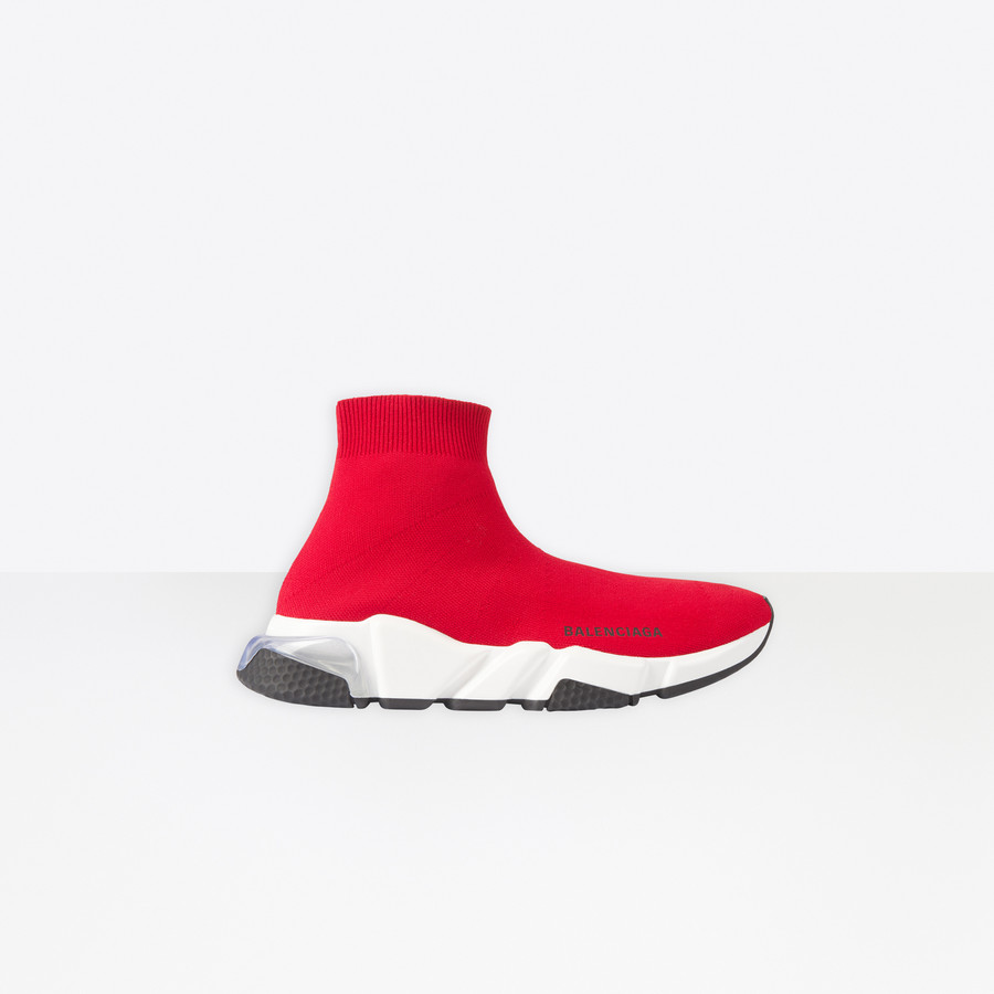 Speed Clearsole Red for Women | Balenciaga