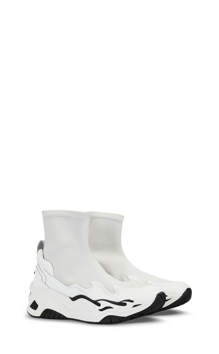 JUST CAVALLI Knitted P1thon sneakers Sneakers Man r