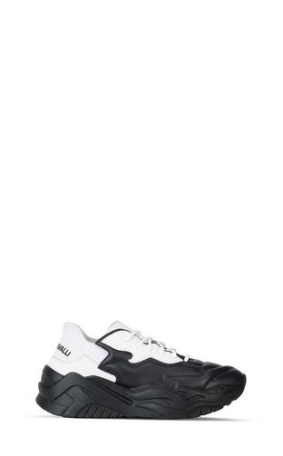 JUST CAVALLI Laced shoes Man Patent-leather lace-ups f