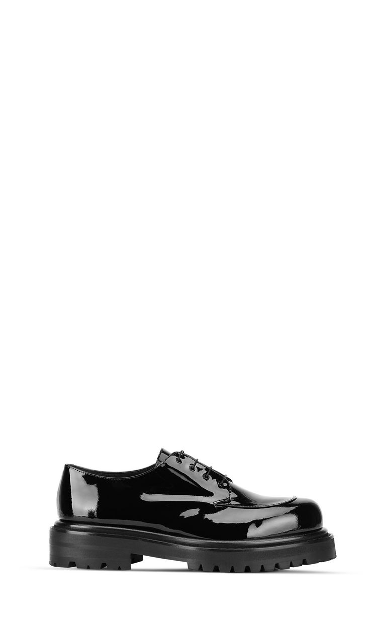JUST CAVALLI Patent-leather lace-ups Laced shoes Man f