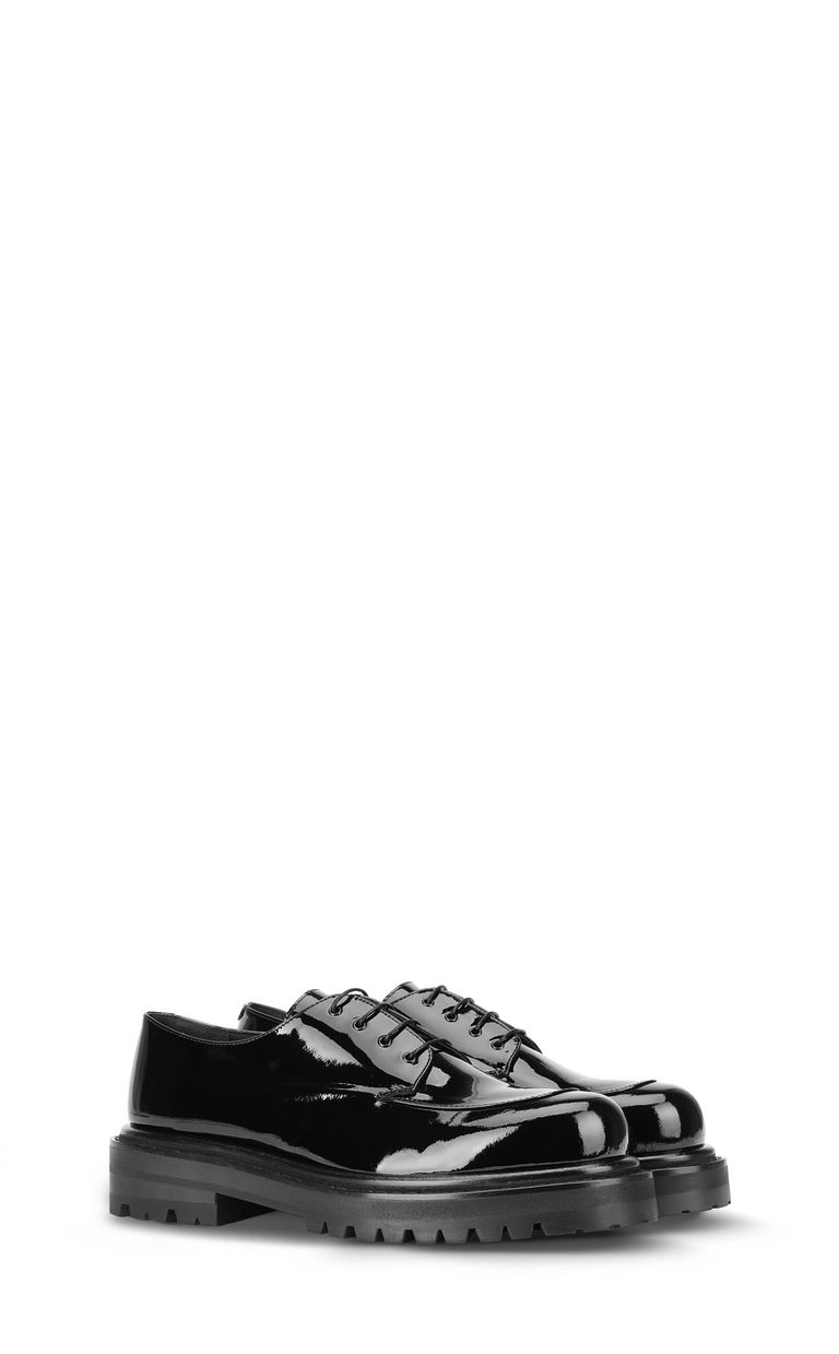 JUST CAVALLI Patent-leather lace-ups Laced shoes Man r