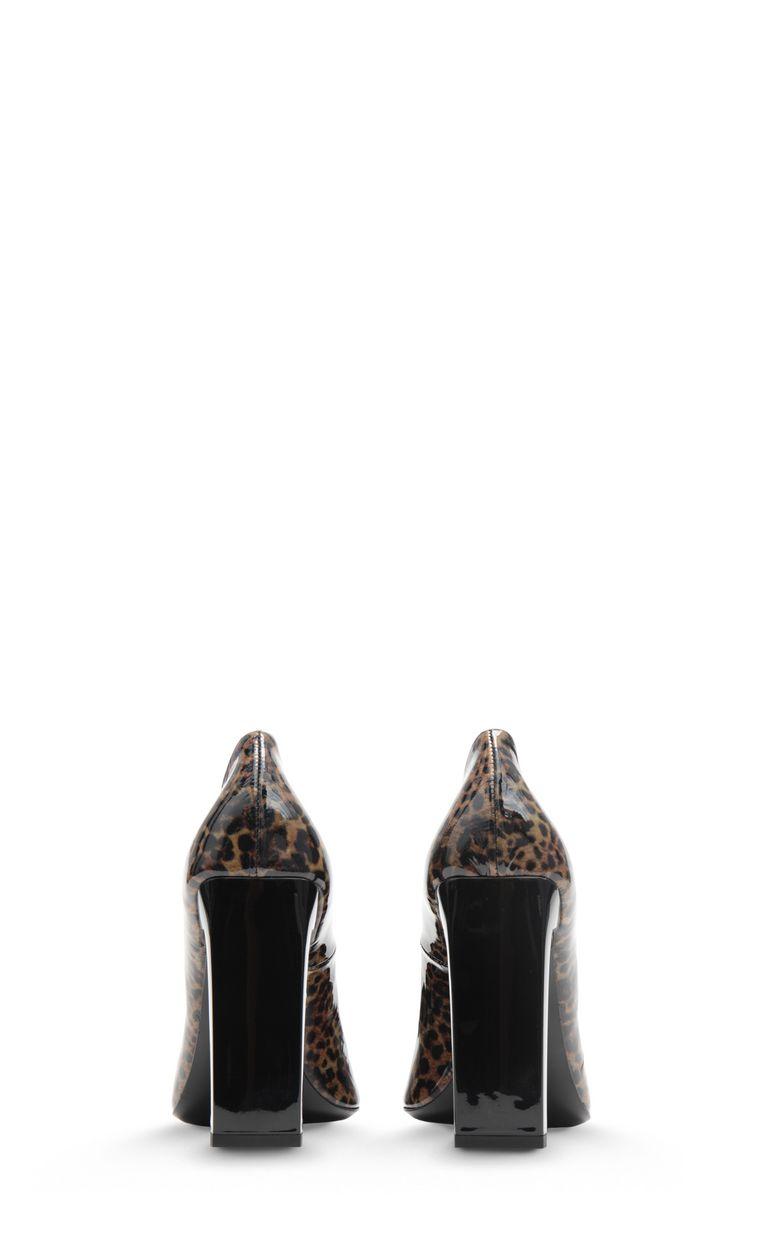 JUST CAVALLI Court shoe with leopard spots Pump Woman d