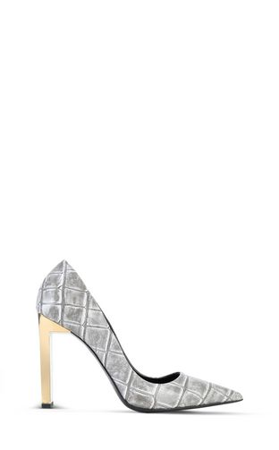 JUST CAVALLI Pump Woman Court shoe with crocodile print f