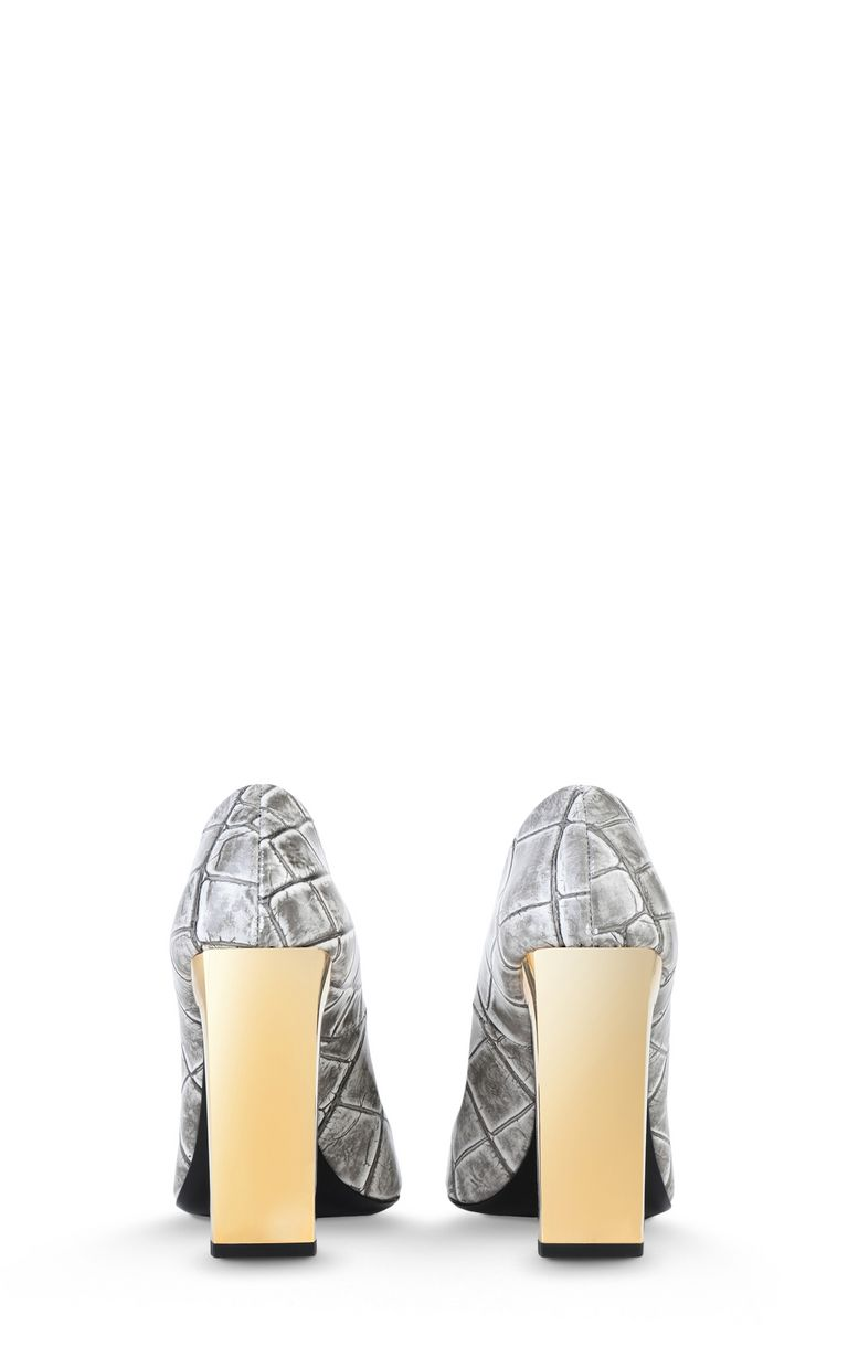 JUST CAVALLI Court shoe with crocodile print Pump Woman d