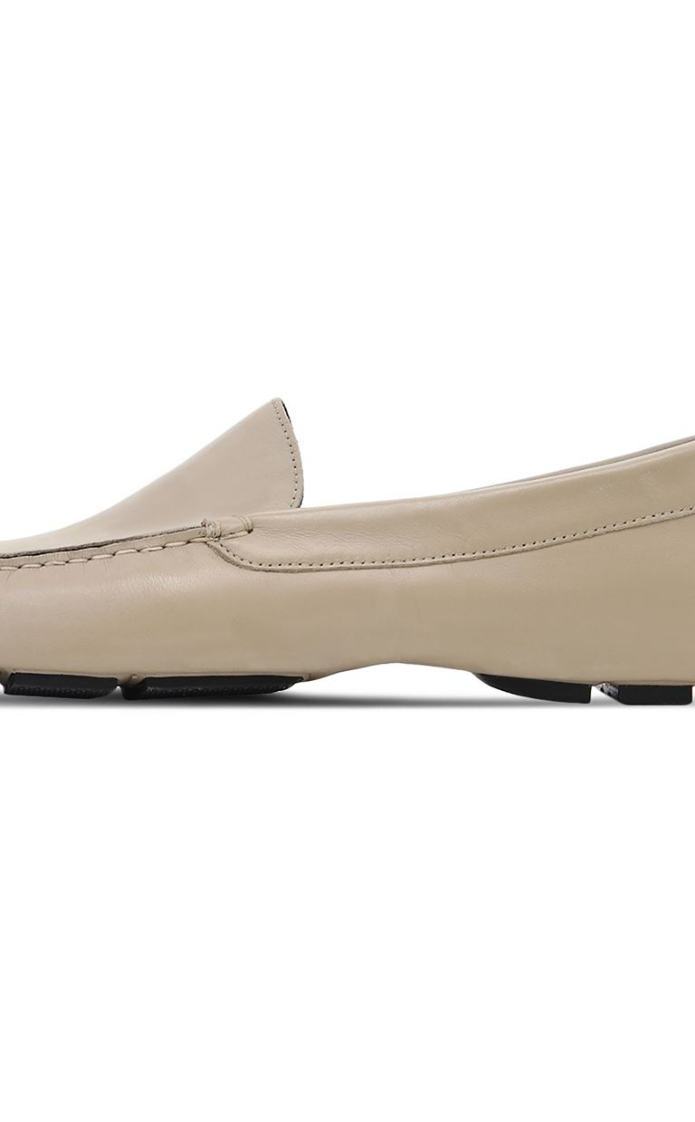 JUST CAVALLI Leather loafers Moccassins Man e